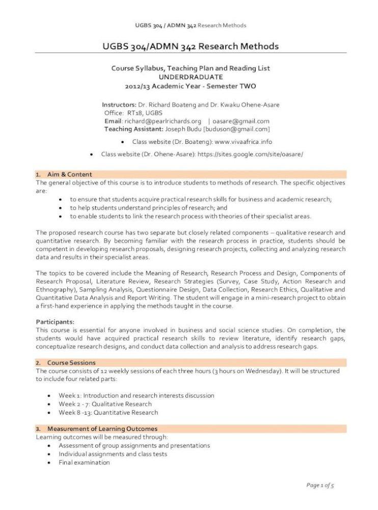 Ugbs 304 Admn 342 Research Methods Viva Ugbs 304 Admn 342 Research Methods Quantitative