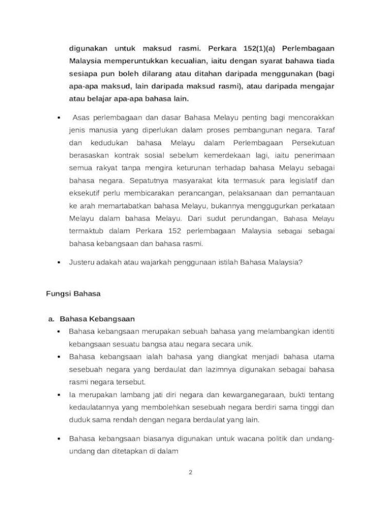 Apa Itu Bahasa Melayu Kuno